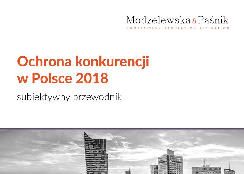 Ochrona konkurencji w Polsce 2018