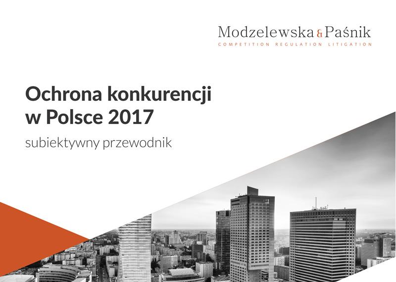 Ochrona konkurencji w Polsce 2017